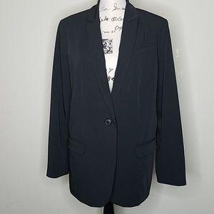 Norma Kamali size 16 black blazer